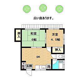 [一戸建] 神奈川県川崎市多摩区枡形3丁目 の賃貸【/】の間取り