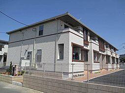 埼玉県鴻巣市松原2の賃貸アパートの外観