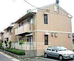 京都府京都市北区上賀茂東後藤町の賃貸アパートの外観