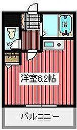 埼玉県川口市西青木4の賃貸マンションの間取り