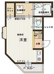 カプリ[3階]の間取り