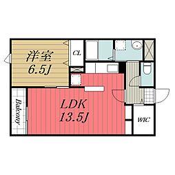 JR成田線 成田駅 バス25分 太産工業前下車 徒歩9分の賃貸マンション 1階1LDKの間取り