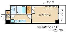 梅田エクセルハイツ[5階]の間取り