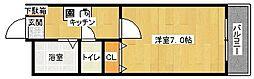 ラコント宮ヶ瀬[305号室]の間取り