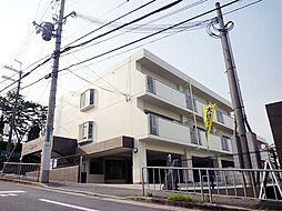 兵庫県川西市萩原3丁目の賃貸マンションの外観