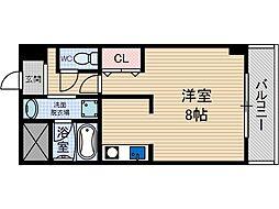 すうり庵[3階]の間取り