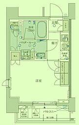 東京都板橋区中板橋の賃貸マンションの間取り