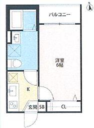 A FLATS[2階]の間取り
