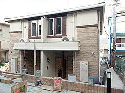 長崎県長崎市清水町の賃貸アパートの外観