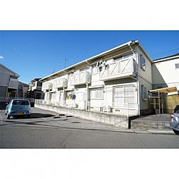 千葉県松戸市殿平賀の賃貸アパートの外観