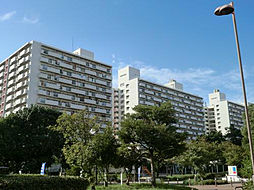 UR南港ひかりの団地[11-306号室]の外観