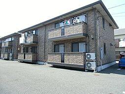 静岡県三島市中の賃貸アパートの外観
