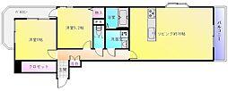 プライムコート[3階]の間取り