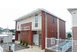 神奈川県伊勢原市板戸の賃貸アパートの外観
