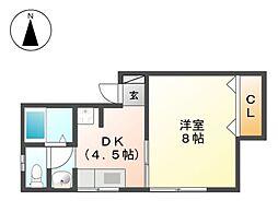 松浦ハイツ[2階]の間取り