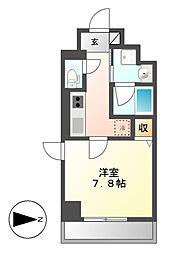 レーベン御器所[6階]の間取り