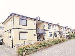 大阪府堺市東区日置荘北町2丁の賃貸アパートの外観
