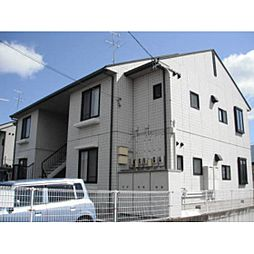 福島県郡山市新屋敷2丁目の賃貸アパートの外観