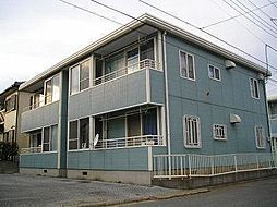 パークハイムゆりのきA[1階]の外観