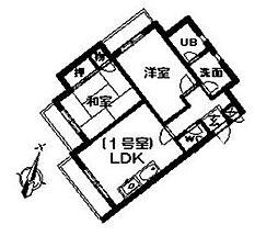 ジュネパレス初石[3階]の間取り