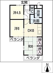 コートメゾン25[2階]の間取り