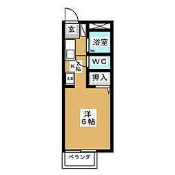 サンガーデン岩崎台[1階]の間取り