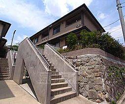 京都府京都市左京区吉田下大路町の賃貸アパートの外観