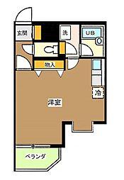 東京都中野区上鷺宮4丁目の賃貸マンションの間取り