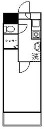 ジョイフル向ヶ丘遊園第2[4階]の間取り