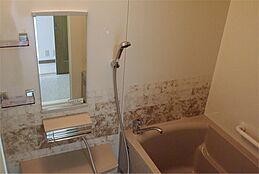 一坪1条の浴室