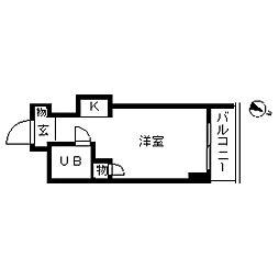 TOP・横浜吉野町[0202号室]の間取り