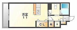 パークハイム参番館B棟[2階]の間取り