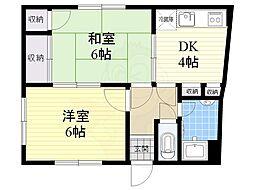 雲雀丘花屋敷駅 3.0万円