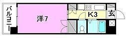 メゾン中村5[105 号室号室]の間取り