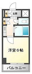 ラ・レジダンス・ド・江坂[3階]の間取り