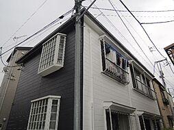 東京都世田谷区太子堂3の賃貸アパートの外観