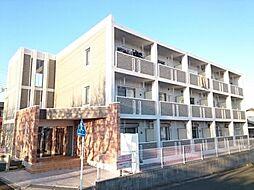 神奈川県茅ヶ崎市堤の賃貸マンションの外観
