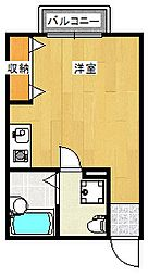 セレニティ福田[2階]の間取り