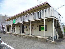 大阪府富田林市錦織東2丁目の賃貸アパートの外観