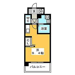 キャッスル綱場[2階]の間取り