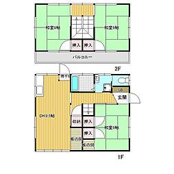 [一戸建] 長野県伊那市中央 の賃貸【/】の間取り