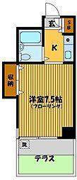 ANNEX TAKAGI[1階]の間取り
