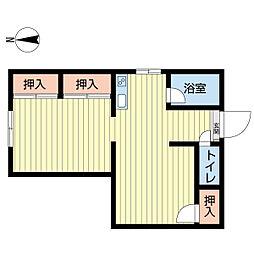 新潟県新潟市中央区西堀前通8番町の賃貸マンションの間取り