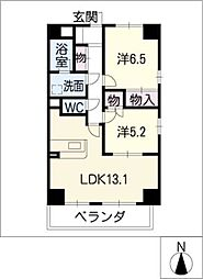 S−FORT車道[1階]の間取り