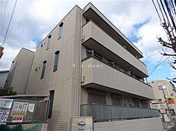 兵庫県神戸市灘区城内通4丁目の賃貸アパートの外観