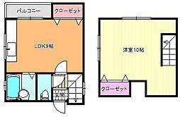 IJマンション[3階]の間取り
