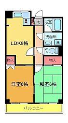 岩崎ビル[5階]の間取り