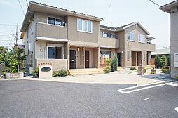 神奈川県海老名市門沢橋4丁目の賃貸アパートの外観