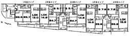 アイビー・ハル 稲田本町1 徳庵12分[2階]の間取り