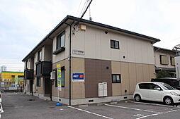 広島県広島市佐伯区五日市駅前1丁目の賃貸アパートの外観